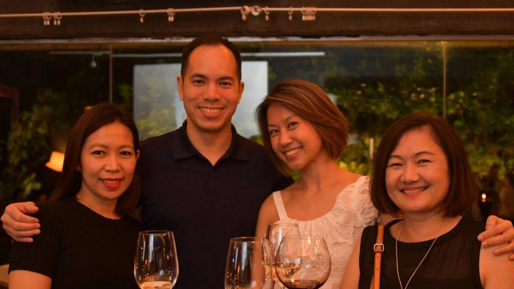 Jeannelyn Luistro De Juan, Alex Lum, Susan Woo, Lynette Chen