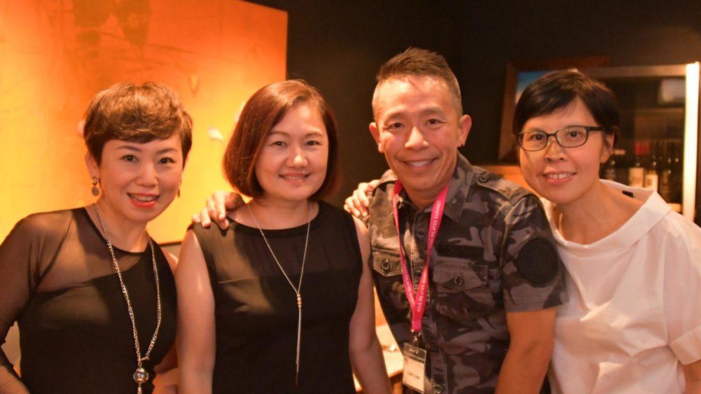 Brendda Pang, Lynette Chen, Collin Low, Diana Pek