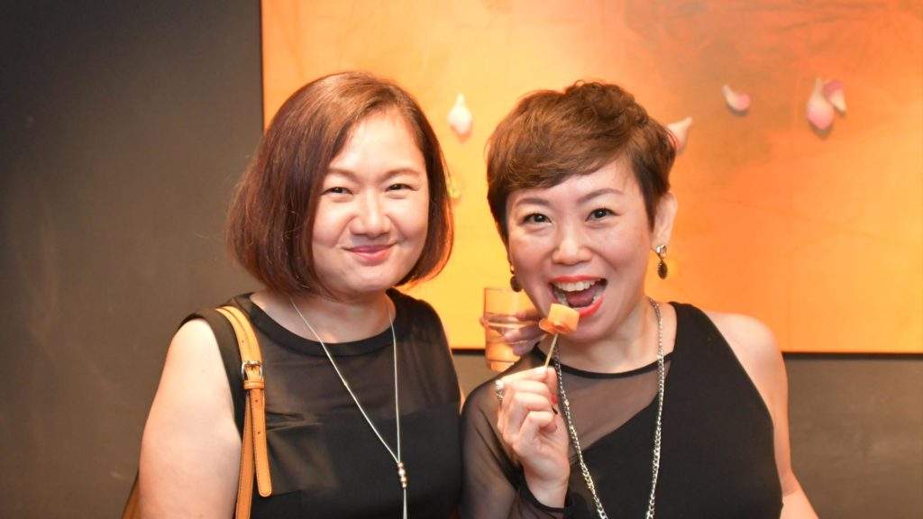 Lynette Chen and Brendda Pang